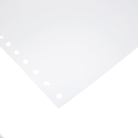 ALLIANCE 1 PART PERFORATED COMPUTER PAPER PLAIN 70GSM 11X9.5MM - BOX OF 2000