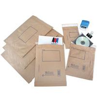 JIFFY SP4 PADDED BAG 240 X 340MM BROWN - BOX OF 100