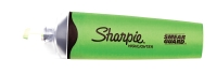 SHARPIE CLEARVIEW HIGHLIGHTERS GREEN - BOX OF 12