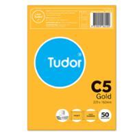 TUDOR C5 PEEL-N-SEAL POCKET ENVELOPE GOLD - PACK OF 50