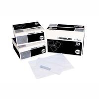 CUMBERLAND DL LASER WINDOW SECRETIVE ENVELOPE WHITE - BOX OF 500