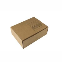 SINGLE WALL MAILING BOX 310 X 225 X 102MM BROWN - PACK OF 25