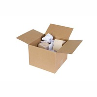 CUMBERLAND DOUBLE WALL SHIPPING BOX 369 X 305 X 102MM BROWN - PACK OF 25
