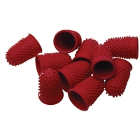 ESSELTE THIMBLETTES SIZE 1 RED - PACK OF 10