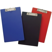 MARBIG PVC CLIPBOARD FOLLSCAP BLACK - EACH