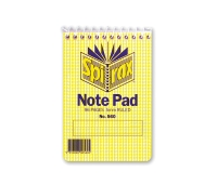 SPIRAX  560 TOP OPENING NOTE PAD 112 X 77MM 96 PAGE - EACH