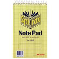 SPIRAX 563B TOP OPENING NOTE PAD 200 X 127MM 300 PAGE - EACH