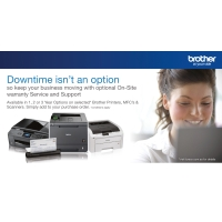 BROTHER 2 YEAR ONSITE WARRANTY SERVICE - EACH