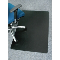 MARBIG ENVIRO CHAIRMAT LARGE RECTANGLE BLACK 1200 X 1500 MM - EACH