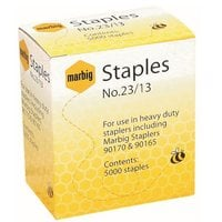MARBIG STAPLES 23/13MM HEAVY DUTY - PACK OF 5000