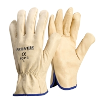 FRONTIER LARGE COWGRAIN RIGGER GLOVES BEIGE - PAIR