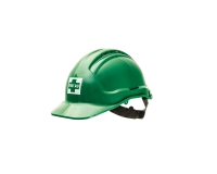 UNISAFE FIRST AID ONSITE HELMET GREEN - EACH
