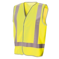FRONTIER DAY/NIGHT VEST LARGE FLUORO YELLOW - EACH