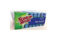 SCOTCH-BRITE NON SCRATCH SCRUB SPONGE - PACK OF 8