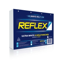 REFLEX 4 HOLE A4 80GSM PAPER WHITE - REAM OF 500
