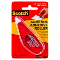 SCOTCH 6061 DOUBLE SIDED ADHESIVE TAPE ROLLER 6.8cm x 8m
