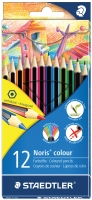 STAEDTLER NORIS COLOUR PENCILS ASSORTED - PACK OF 12