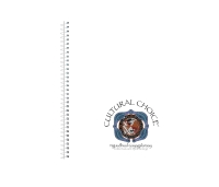 CULTURAL CHOICE SPIRAL BOUND A5 NOTE BOOK WITH POCKET 200 PAGES WHITE - EACH