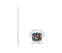 CULTURAL CHOICE SPIRAL BOUND A4 NOTE BOOK 120 PAGES WHITE - EACH
