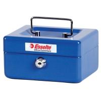 CONCORD NUMBER 6 CASH BOX 152 X 118 X 80MM BLUE - EACH