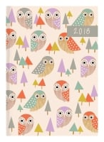 COLLINS FLAIR DIARY A5 DAY TO PAGE ASSORTED DESIGN - EACH