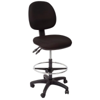 RAPIDLNE DRAFTING CHAIR WITH DRAFTING KIT BLACK - EACH
