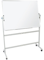 RAPIDLINE MOBILE MAGNETIC WHITEBOARD DOUBLE SIDED 1500WX900D  - EACH