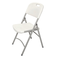 RAPIDLINE POLY FOLDING CHAIR GREY  - EACH