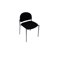 RAPIDLINE STANDARD VISITORS CHAIR ADK BLACK -EACH - EACH
