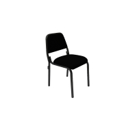 RAPIDLINE STACKING CHAIR BLACK  - EACH