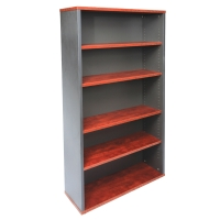RAPID MANAGER BOOKCASE 900WX315DX18000H APPLE/IRONSTONE  - EACH