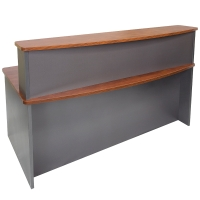 RAPID MANAGER RECEPTION COUNTER 1800WX950DX400H APPLETREE/IRONSTONE  - EACH
