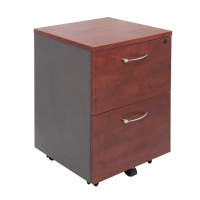 RAPID MANAGER 2 DRAWER MOBILE PEDESTAL APPLETREE/IRONSTONE  - EACH