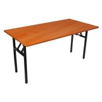 RAPIDLINE STEEL FOLDING TABLE 1800W X 750DX730H CHERRY  - EACH