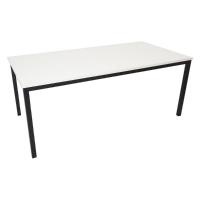 RAPIDLINE STEEL FRAME TABLE 1500WX750DX730H WHITE  - EACH