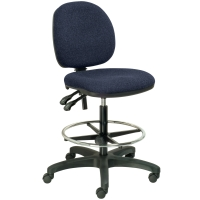 SEATING SOLUTIONS DRAUGHTMAN S CHAIR NAVY - EACH