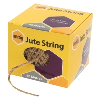 MARBIG JUTE STRING BROWN 50M - EACH