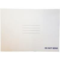 CUMBERLAND RIGID CARD BOARD MAILER C4 WHITE - PACK OF 25