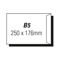 AOP B5 POCKET PEEL-N-SEAL ENVELOPE WHITE - BOX OF 500