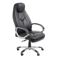 ACE COMMODORE HIGH BACK CHAIR BLACK - EACH