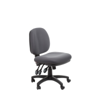 ACE MELBOURNE MEDIUM BACK ERGONOMIC CHAIR GREY - EACH