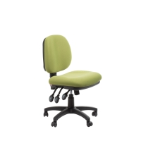 ACE MELBOURNE MEDIUM BACK ERGONOMIC CHAIR GREEN - EACH