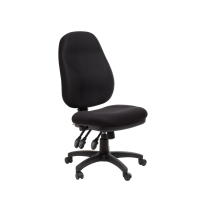 ACE SYDNEY EXTRA HIGH BACK ERGONOMIC CHAIR BLACK- EACH
