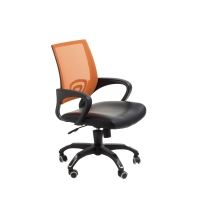 ACE VIEW MEDIUM BACK  CHAIR ORANGE - EACH