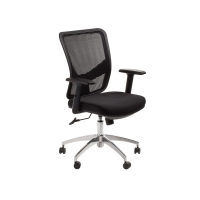 ACE BRISBANE MESH BACK CHAIR BLACK - EACH
