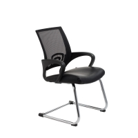 ACE VIEW VISITORS MEDIUM BACK CHAIR BLACK - EACH