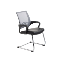 ACE VIEW VISITORS MEDIUM BACK CHAIR GREY - EACH