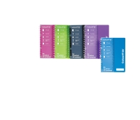 COLOURHIDE NOTE BOOK A5 200 PAGE ASSORTED - EACH