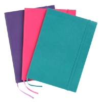 COLOURHIDE JOURNAL A5 192 PAGE ASSORTED - EACH