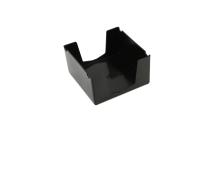 ITALPLAST MEMO CUBE HOLDER PLASTIC BLACK - EACH